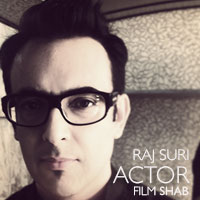Raj Suri acting in a character role in SHAB