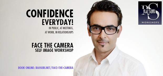 Raj Suri Face the Camera   Workshops & Auditions